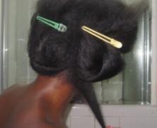 Splitender Maxi Kit on Natural Hair