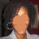 twist out day 1 - front