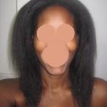 trimmed hair - Splitender on natural hair