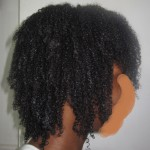 wet hair - leavein - baking soda conditioner
