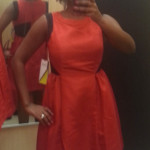 Prabal Gurung for Target collection Red Apple dress with full skirt