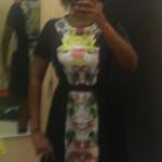 Prabal Gurung for Target collection, Prabal Gurung First Date print dress