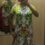 Prabal Gurung for Target collection, Prabal Gurung First Date print t-shirt dress