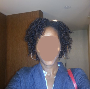 travel hair - after